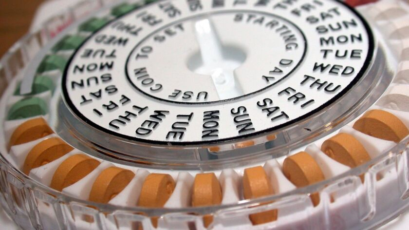Birth control pills are shown. An appellate court panel on Friday appeared skeptical about a nationwide injunction that has prevented the Trump administration from allowing broad exemptions to the Affordable Care Act's contraceptive mandate.