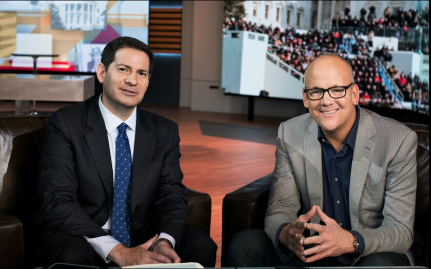 Mark Halperin and John Heiliemann