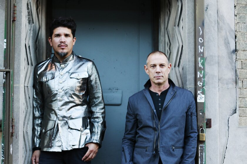 Thievery Corporation's Rob Garza and Eric Hilton.