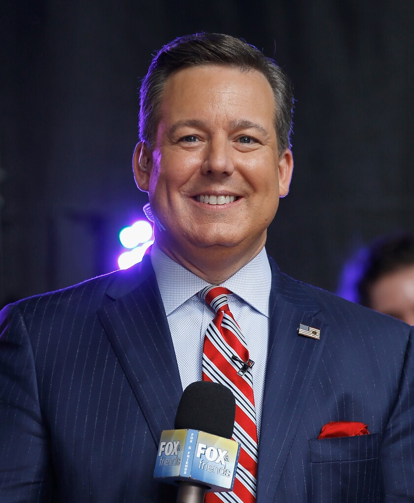 Former Fox News anchor Ed Henry.