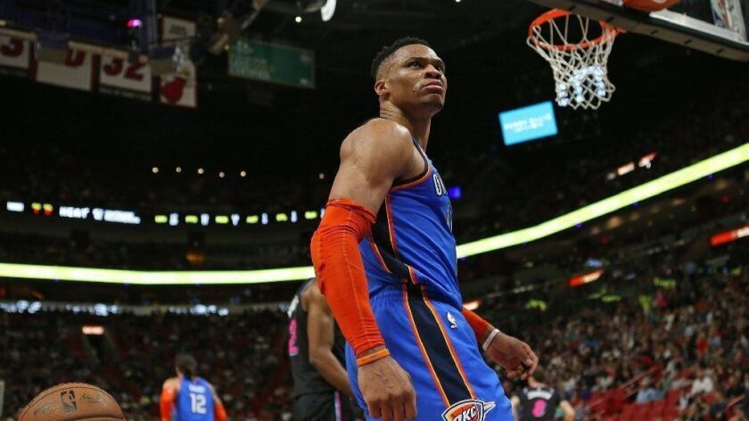 Oklahoma City Thunder guard Russell Westbrook bought the home four years ago from reality television personality Scott Disick for $4.65 million.