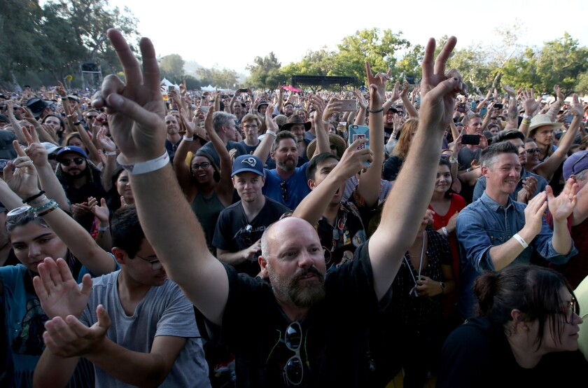 Music fans show their appreciation for Alabama Shakes at Arroyo Seco Weekend, a new Goldenvoice-prod
