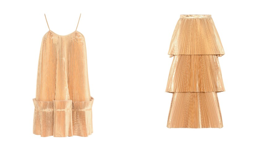 Stella McCartney two-piece Melody skirt and Viviana top.