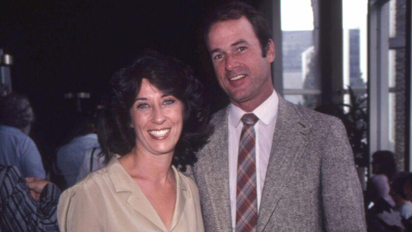 Jack Bannon and his actress wife, Ellen Travolta Bannon, in Los Angeles in 1980.