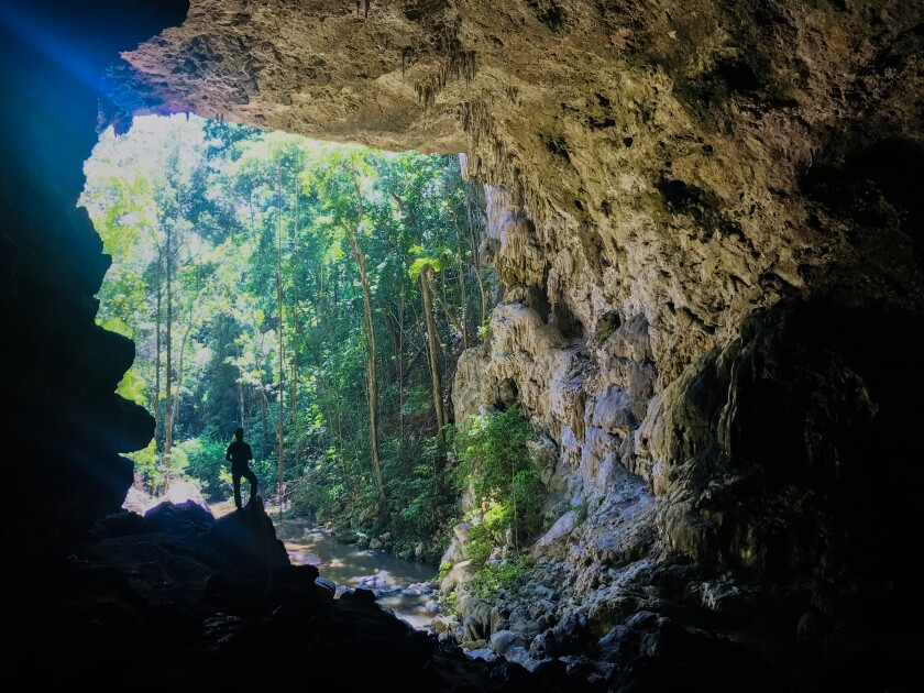Rio Frio Cave is just one of 300-plus caves that have been mapped across Belize. A guided canoe ride is one way to explore them.
