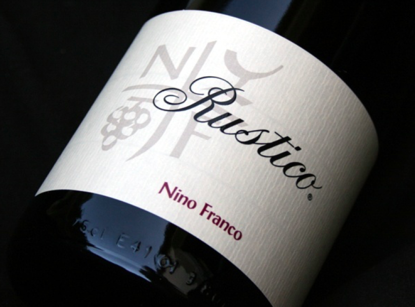 Nino Franco Rustico label shot