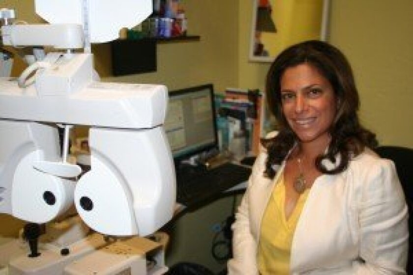 Dr. Puneh Baha.  Photo/Kristina Houck