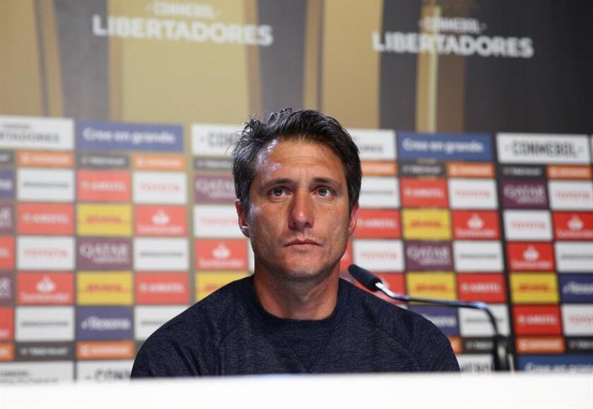El técnico argentino Guillermo Barros Schelotto. EFE/Archivo