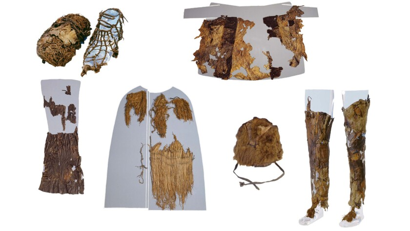 A new analysis of 5.300-year-old garments worn by Europe's oldest mummy reveals they were made from the hides of both domesticated and wild animals.
