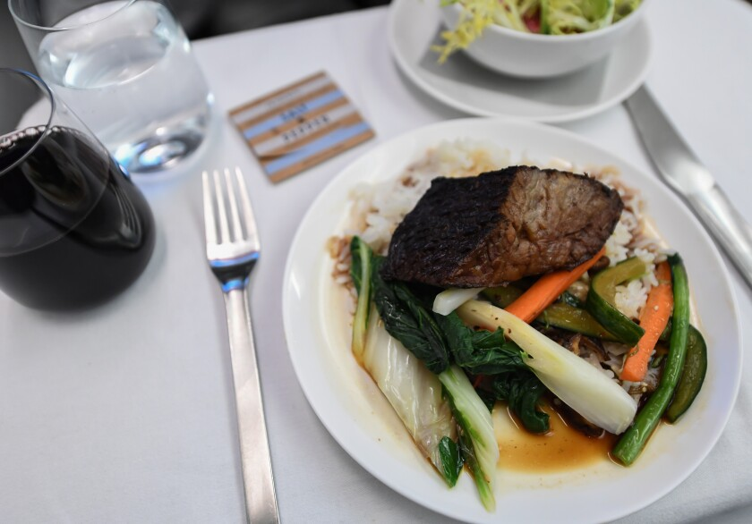 How many meals were served on that 19-hour flight? Fewer than you'd think