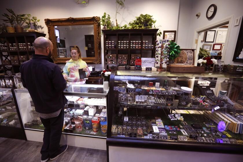 A cannabis dispensary