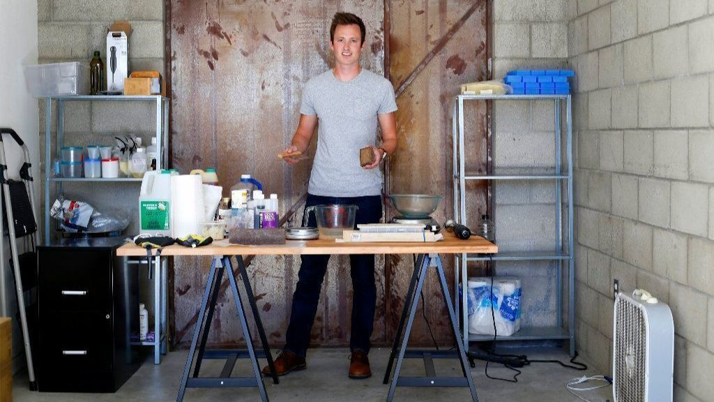 How this 31-year-old makes millions selling soap online