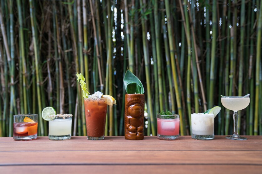 Charles + Dinorah cocktails