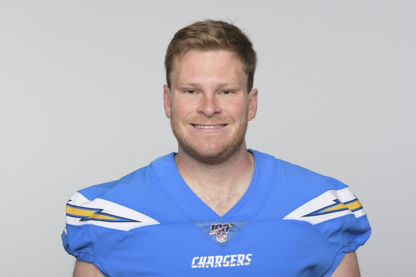 separation shoes e68a3 c7f08 Chargers' Ty Long had sick feeling for NFL debut but ...