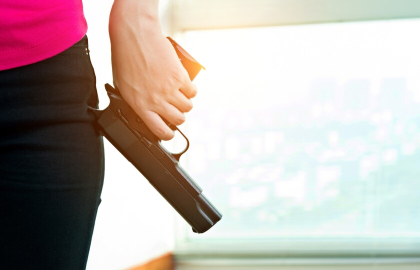 Handguns were given as a Christmas gift to the employees of a Wisconsin company called BenShot.