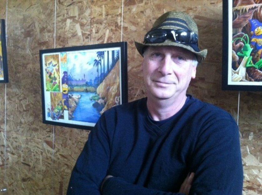 Curator Harry Katz