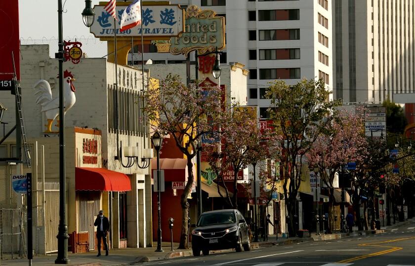 Broadway through Chinatown