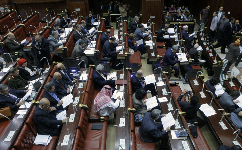 Vote on Egyptian constitution