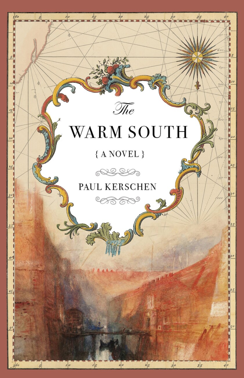 "A book jacket for Paul Kerschen's ""The Warm South."" Credit: Roundabout Press"