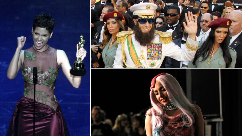 A selection of unforgettable red-carpet moments at the Oscars, Emmys, Grammys and more.