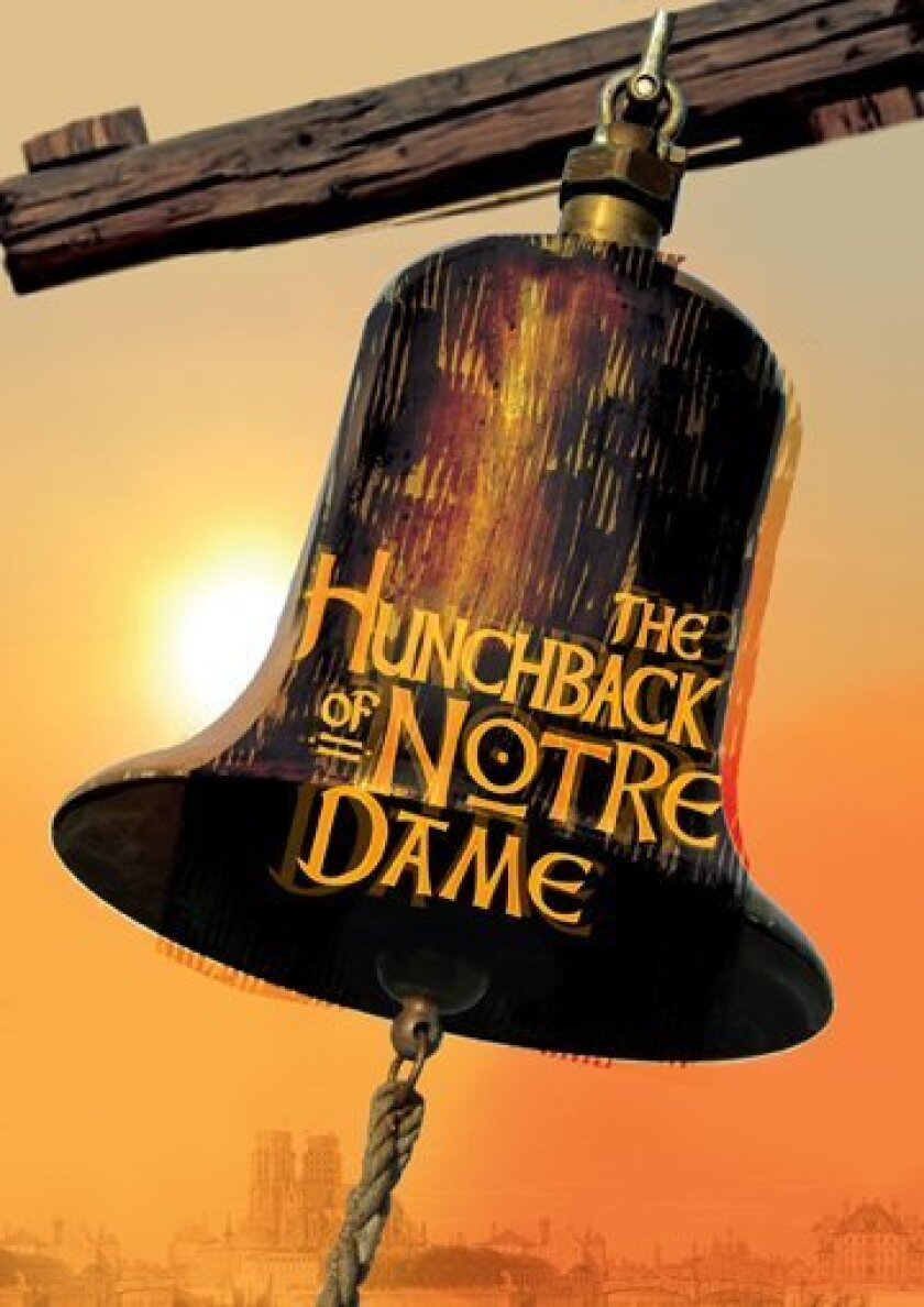 """La Jolla Playhouse's production of """"The Hunchback of Notre Dame"""" is based on both Victor Hugo's classic 1831 novel and the 1996 Disney animated feature film. The musical is produced by special arrangement with Disney Theatrical Productions and co-produced with Paper Mill Playhouse in Millburn, New"""