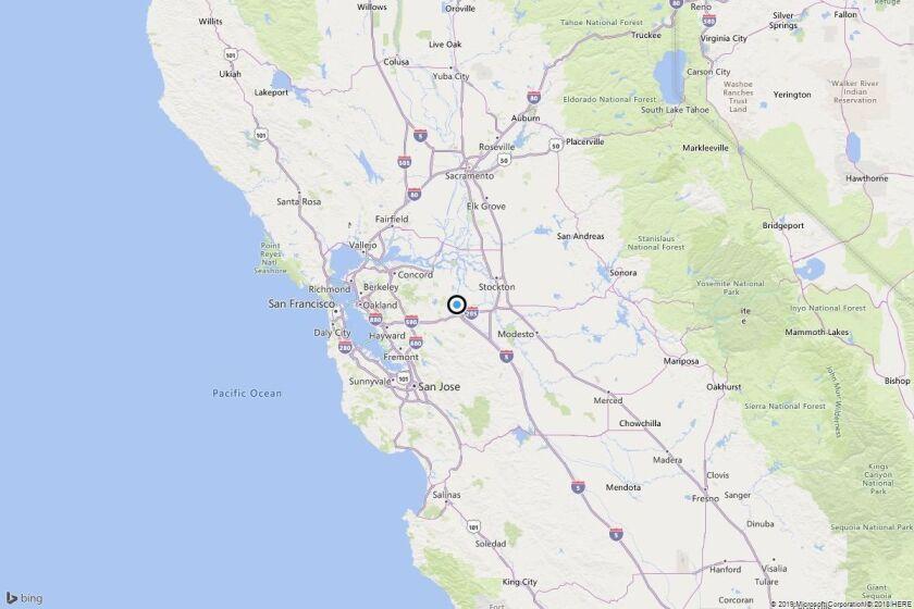 Earthquake: 3.1 quake strikes near Mountain House, Calif.