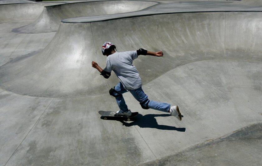 Kennedy Skatepark in El Cajon