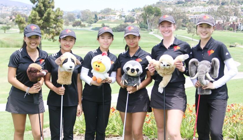 TPHS golf team