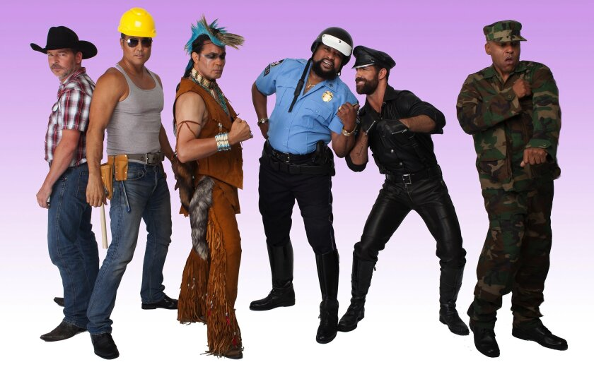 Disco favorites the Village People will perform Wednesday at Sycuan Casino with Kool & The Gang. The Village People's lead singer and leader, Victor Willis — shown above at center, dressed as a police officer — is a San Diego resident.