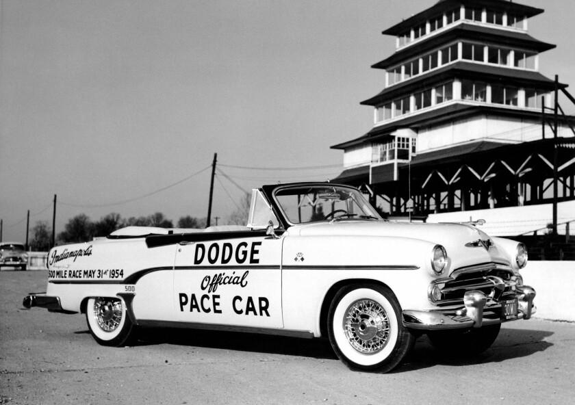 1954 Dodge Royal Indianapolis 500 pace car.