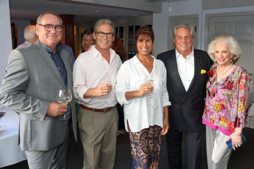 Jerome Strack, Gary and Karen Wildeson, Bertrand Hug, Connie McNally