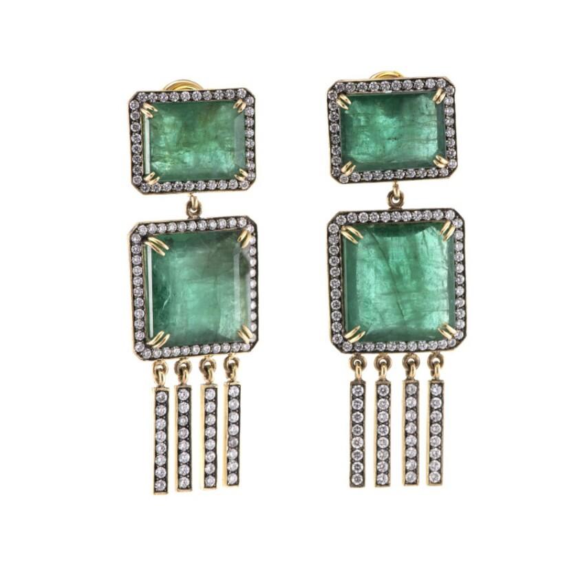 Earrings from Sylva & Cie