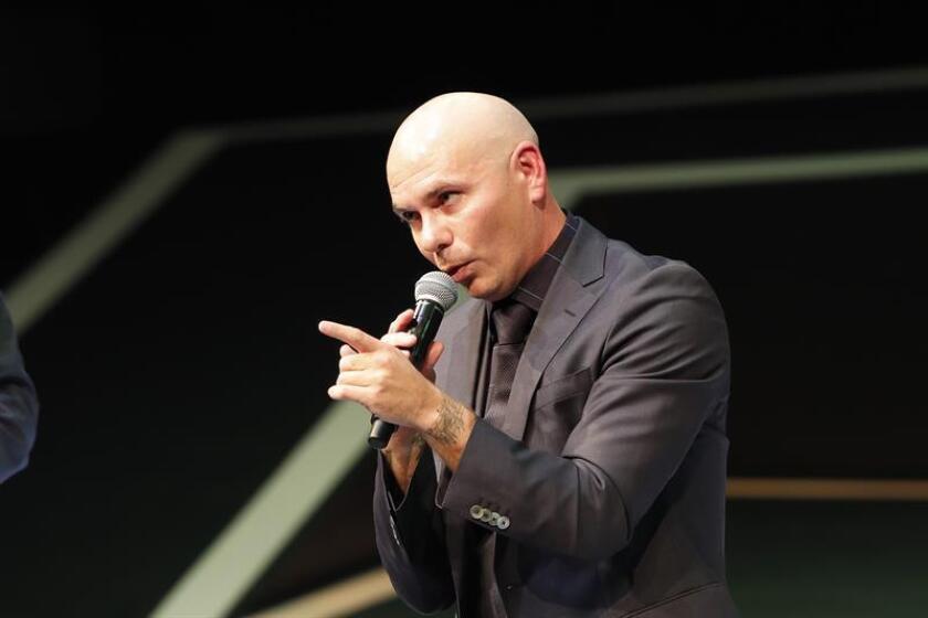 El rapero y productor musical Armando Christian Pérez, Pitbull. EFE/Archivo