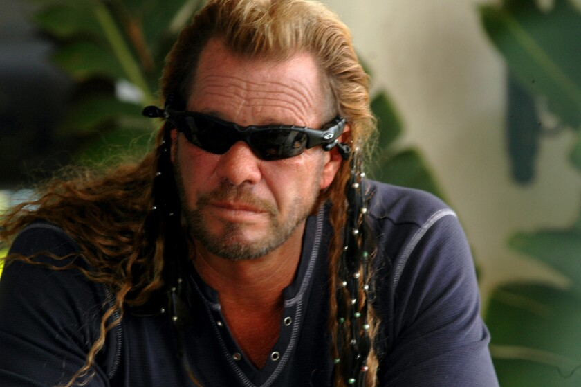 "Duane ""Dog"" Chapman has vowed to track down the fugitive MMA star War Machine."