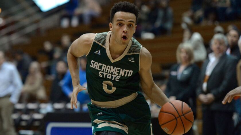 Through the season's first 12 games, Westview alum Marcus Graves is averaging 14.6 points, the best of his four seasons at Sacramento State.