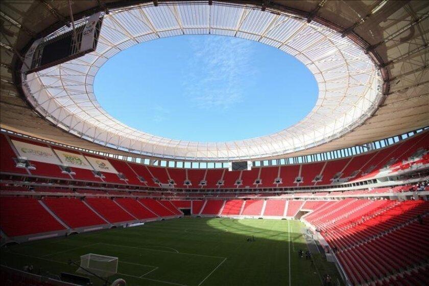 Vista general del estadio Nacional de Brasilia en Brasilia (Brasil). EFE/Archivo