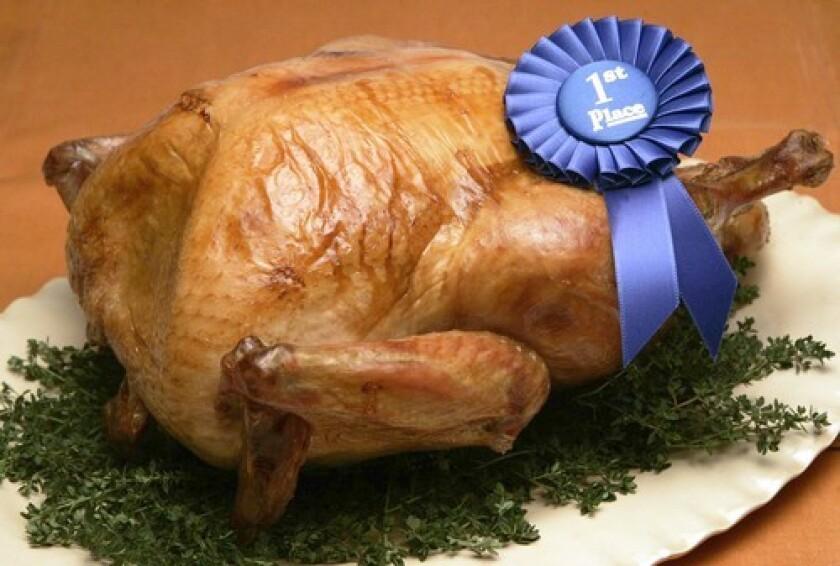 <b>NO. 1:</b> The winning bird was crisp, firm, meaty and still incredibly moist.