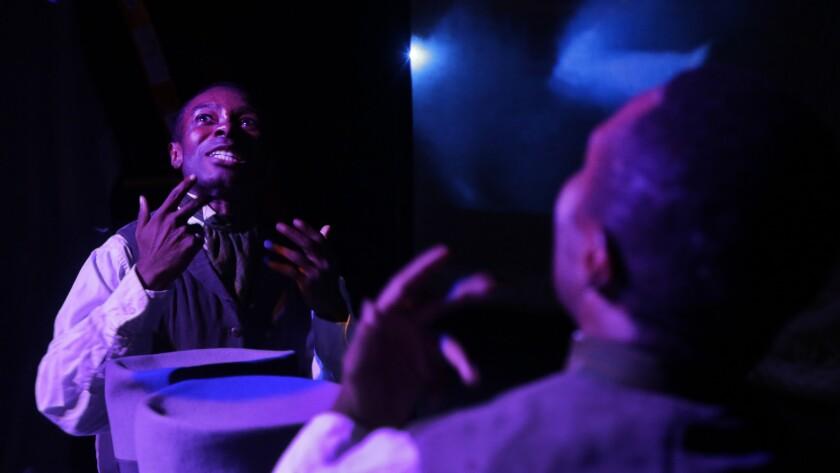 Frank Lawson rehearsing 'Until, Until, Until...'