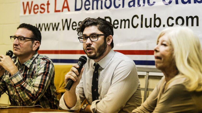 LOS ANGELES, CA -- WEDNESDAY, OCTOBER 10, 2018-- West LA Democratic Club held a public meeting to al