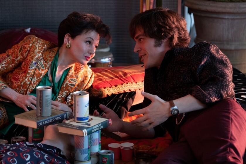 """Renee Zellweger and Finn Wittrock in """"Judy."""""""