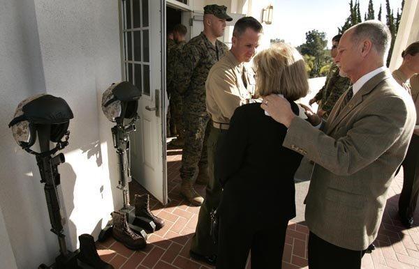 Memorial Service for Fallen Marines