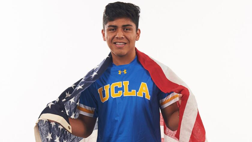Frankie Amaya, jugador de UCLA.
