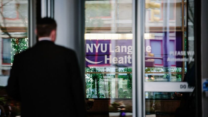 New York University offers free tuition for all medical students, USA - 17 Aug 2018