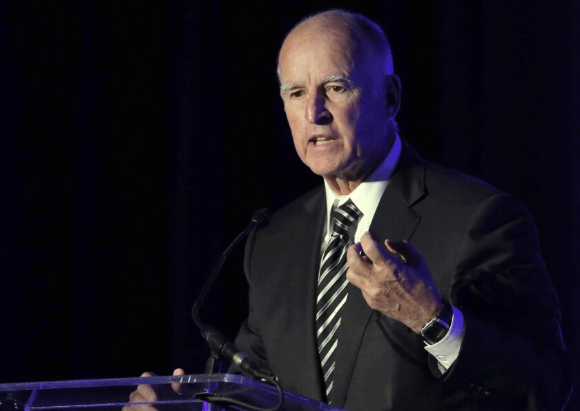 A group of unions in California are pushing a ballot measure to continue Gov. Jerry Brown's so-called temporary tax hike 12 years beyond its scheduled Dec. 31, 2018, cutoff.