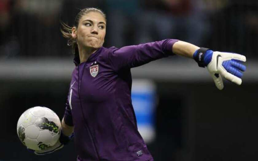 Hope Solo's scoreless streak now stands at 256 minutes.