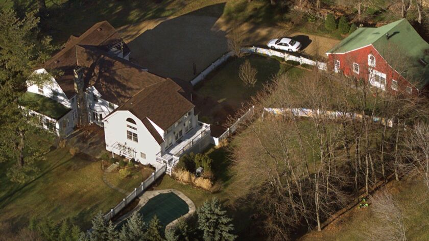 The Clintons' Chappaqua, N.Y., residence.