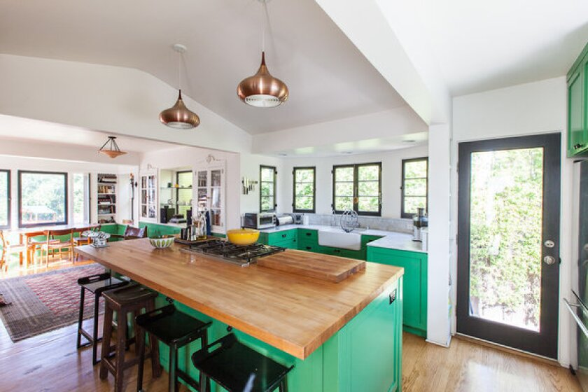 Architect Barbara Bestor goes green in colorful kitchen remodel
