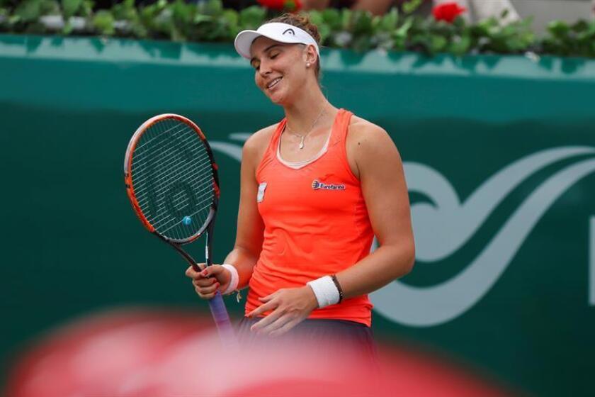 En la imagen, la tenista brasileña Beatriz Haddad Maia. EFE/Archivo