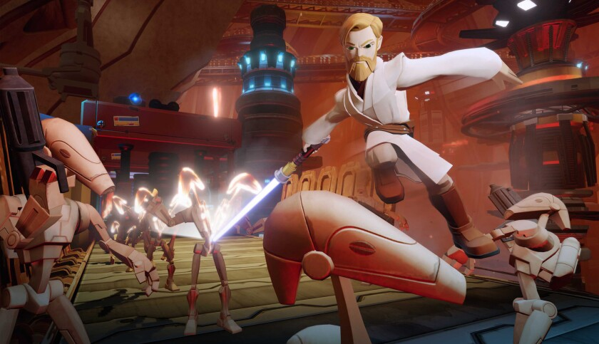 "The next edition in ""Disney Infinity"" will include ""Star Wars."""