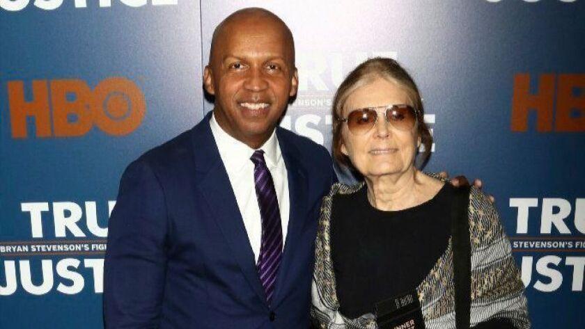 Bryan Stevenson, Gloria Steinem